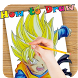 How to Draw DBZ Characters by EmilyFaithe
