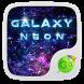 Neon Galaxy GO Keyboard Theme by GO Keyboard Dev Team