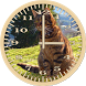 Cat 6 Tabby Analog Clock by Orcraphics