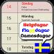 Svensk Kalender (Testversion) by JAG Appar
