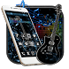 Jazz Black Guitar Theme by stylish android themes