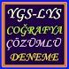 YGS LYS Coğrafya Test Deneme by MTT