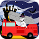 Firetruck Game Halloween by Play N Learn