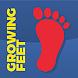 Growing Feet by Chris s