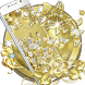 Gold Butterfly Diamond Theme by Cool Theme Love