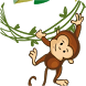 Jumping Monkey by SNA Files