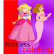 princess coloring by Adult coloring books