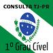Consulta TJ-PR - 1º Grau Cível
