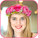 Flower Crown Photo Editor Heart Effect Filter