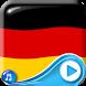 German Flag Waving Wallpaper by Clock Live Wallpaper