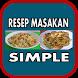 Aneka Resep Masakan Simple by Bazla_Apps Studio