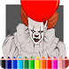 How To Color Pennywise IT (pennywise wallpaper 2) by AdamStudios