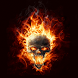 Fire Skull Live Wallpaper by Apploz