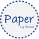 Paper Blue Theme LG G6 G5 V20 by WSTeams