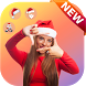 Santa Claus Photo Editor With Christmas Stickers