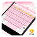 Pink Flower Keyboard-Emoji,Gif by Eva Colorful Design Team