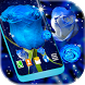 Blue Roses Live Wallpaper by 3D HD Moving Live Wallpapers Magic Touch Clocks