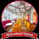 Restaurant Design Ideas by dezapps