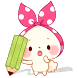 """Sticky Notes """"Mochizukin-chan"""" by peso.apps.pub.arts"""