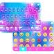 Neon Rain Theme for iKeyboard by Emoji Design Studio