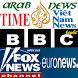 Top 10 International NEWS websites by hashtagIslam
