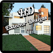 HD Home Exteriors Designs Free by Happy Gaming