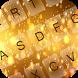 Gold Shine Keyboard by Emoji Keyboard Colorful Design