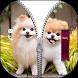 Cute Puppy Zipper Lock by Top App Point