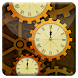 Gear World Analog Clock LWP by Jike Inc.