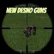 New Desno Guns Mod for MCPE by introqtgamesinc