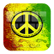 GO Keyboard Peace Reggae Rasta by Keypad Emoji Keyboard Theme Design