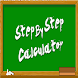 STEP BY STEP CALCULATOR by UNIAJC