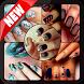 DIY Nail Toe Art Designs Steps by Ocean Grampus Apps
