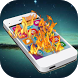 Fire screen - Touch flame by Dash Studio