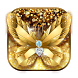 Diamond Butterfly Golden Theme by Cool Theme Love