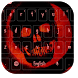 Blood Skull Keyboard by live wallpaper collection