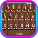 Milk Chocolate Theme&Emoji Keyboard by happy emoji keyboard theme studio
