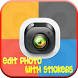 Edit Photo With Stickers by izliappclicks