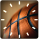 BASKETBALL ANALOG CLOCK Widget by Master Creations
