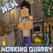 MOD Working Quarry for MCPE by ShvedXGames