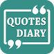 Quotes Diary by App Racks