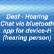Deaf - Hearing chat device H by sarslander
