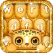 Gold Glitter Keyboard Emoji by Cicmilic Soft
