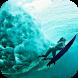 Women Surfing. Live wallpaper by Mobile Stranger