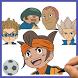 How to draw Inazuma Eleven by Draw and enjoy