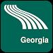 Georgia Map offline by iniCall.com