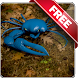 Blue Crab Free live wallpaper by Infomedia BH