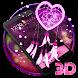 3D Pink Dreamcatcher Heart Theme