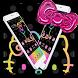 Neon Kitty Princess Bowknot Theme
