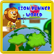 Lion Runner World by Petagorus